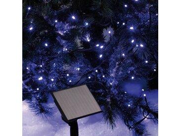 CODICO Guirlande solaire lumineuse - 50 LED - 5 m - Bleu