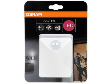 OSRAM Luminaire extérieur DoorLED UpDown - Blanc - IP44 - Piles fournies