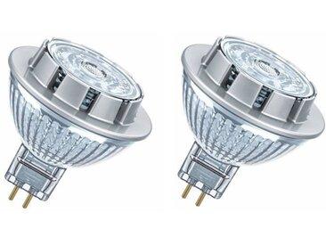 OSRAM Lot de 2 Ampoules spot LED MR16 GU5,3 7,2 W équivalent à 50 W blanc froid
