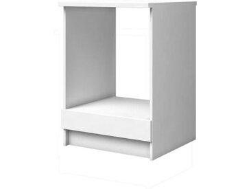 EXTRA Meuble Bas Four - L 60cm - Blanc Mat