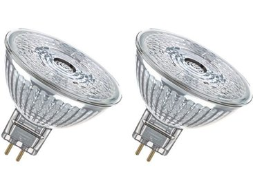 OSRAM Lot de 2 Ampoules spot LED MR16 GU5,3 4,6 W équivalent à 35 W blanc froid