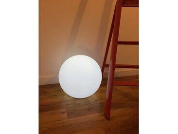 LUMISKY Sphère lumineuse E27 sur secteur 60 cm - Blanc