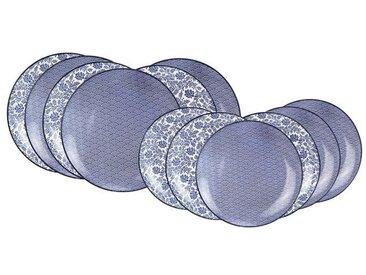 """ARDTIME EC-BL12AS Service de table 12 pièces  """"china blue"""""""