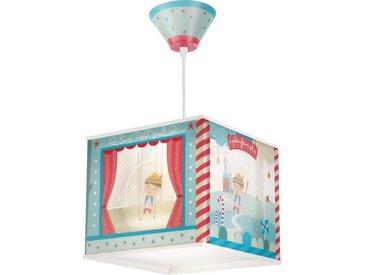 Lustre suspension chambre enfant Pinocchio - Bleu