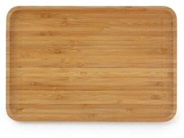 YONG Plateau - 28 x 19 cm x H1,7 cm - Bambou
