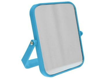FRANDIS Miroir double face rectangle 18X13 cm Bleu
