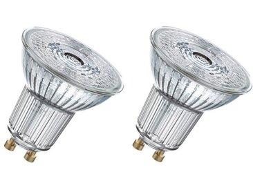 OSRAM Lot de 2 Ampoules spot LED PAR16 GU10 4,6 W équivalent à 50 W blanc chaud dimmable