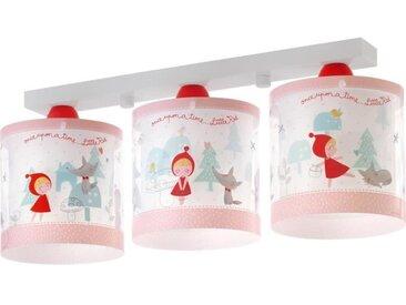 Lampe plafonnier enfant Little Red - Rouge