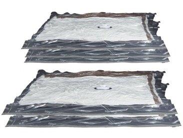 COMPACTOR Lot de 5 sacs de rangement Aspispace transparent taille M