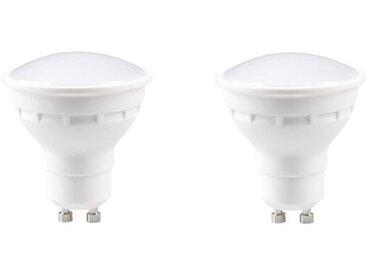 EXPERT LINE Lot de 2 ampoules LED Spot GU10 4 W équivalent à 30 W blanc chaud compatibles variateur