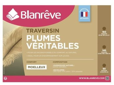 BLANREVE Traversin Plumes 90 cm