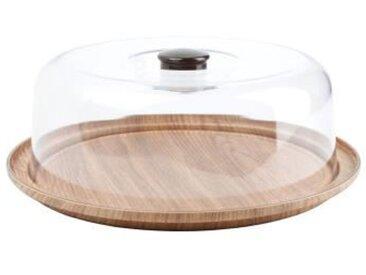 AERTS Plat à tarte avec cloche - 30,5 x 10,5 cm - buffet