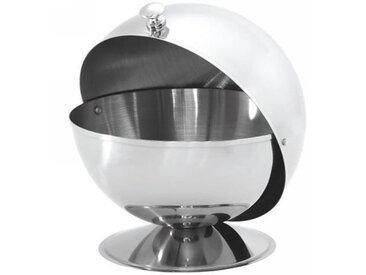 Sucrier boule D : 13cm - inox