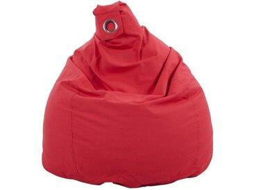 Poire déhoussable en coton FLO - Ø75x110 cm - Rouge