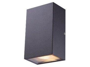 GLOBO LIGHTING Applique extérieure aluminium fonte gris - Verre translucide