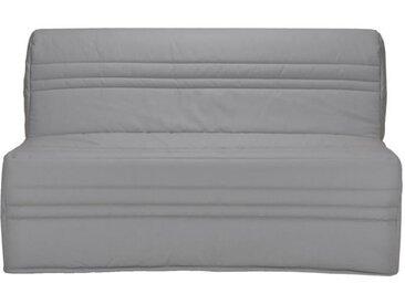 JOÉ Banquette BZ 3 places - Tissu gris clair - Contemporain - L 143 x P 97 cm
