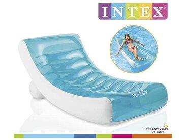 INTEX Matelas gonflable adulte pour piscine Lounge 188 X 99 Cm