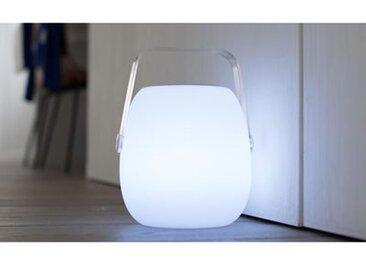 Lampe baladeuse 2 en 1 bluetooth So Play blanc 25 x Ø18 cm