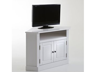 Meuble TV d'angle, pin massif, Authentic Style