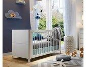 Lit bébé évolutif Nutz  Blanc 70x140 cm