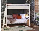 Lit mezzanine enfant 2 places Fynn  Blanc 140x190 cm