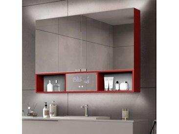 Armoire Salle de Bain Miroir Emma - 2 portes