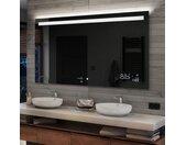 Illumination LED miroir sur mesure eclairage salle de bain L12
