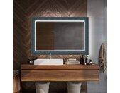 Miroir décoratif rétroéclairé pour la salle de bains - Elegant
