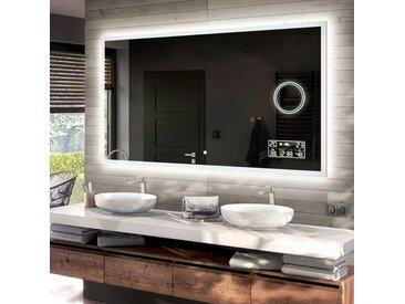Illumination LED miroir sur mesure eclairage salle de bain L01