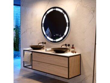 Illumination LED miroir sur mesure eclairage salle de bain L34