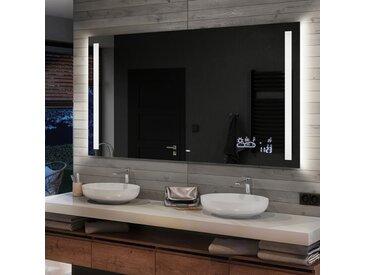 Illumination LED miroir sur mesure eclairage salle de bain L02