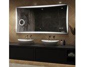 Illumination LED miroir sur mesure eclairage salle de bain L77