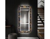 Miroir décoratif avec éclairage LED pour l'entrée - Autumn Jungle
