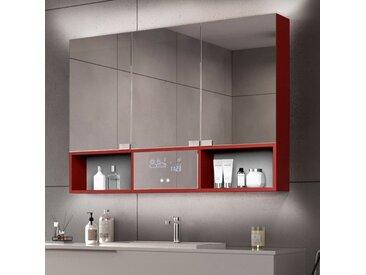 Armoire Salle de Bain Miroir Emma - 3 portes