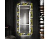 Miroir décoratif avec éclairage LED pour l'entrée - Gold Jungle