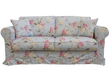 Housse pour canapé convertible 3 places en tissu à motif fleuri - Crowson