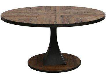 Table à manger ronde industrielle D150 cm - Manufacture
