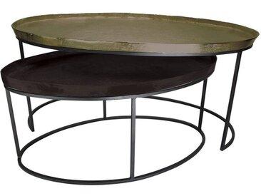 Set de 2 tables gigognes - Factory
