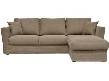 Housse pour canapé d'angle 5 places en tissu - Boston