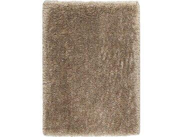 Tapis à poils longs marron 160x230cm - Céleste
