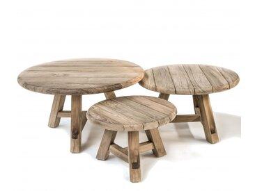 Set de tables basses de jardin Anton - Gommaire | Tentation