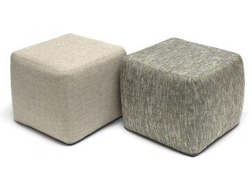 Pouf/table basse de jardin carré - Gommaire | Tentation