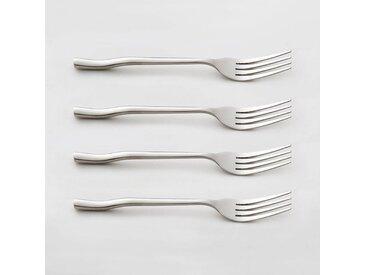 Lot 4 fourchettes inox, ANDRINE LA REDOUTE INTERIEURS Inox