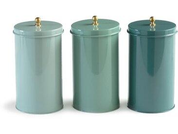 Lot 3 boites de rangement, Jimento LA REDOUTE INTERIEURS Vert