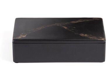 Boîte en résine effet marbre grand modèle Ogama AM.PM Noir
