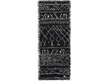 Tapis de couloir style berbère Afaw LA REDOUTE INTERIEURS Noir/Blanc