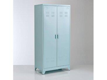 Armoire 2 portes en métal, Hiba LA REDOUTE INTERIEURS Bleu