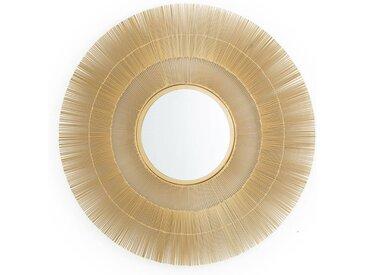 Miroir soleil métal ø80 cm Langa AM.PM Doré