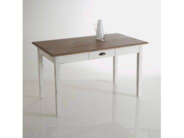 Table à manger pin massif 2/4 couverts, Roside LA REDOUTE INTERIEURS Blanc Clair