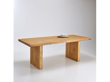 Table fixe rectangulaire, 6 à 8 couverts, Malu LA REDOUTE INTERIEURS Pin Ciré